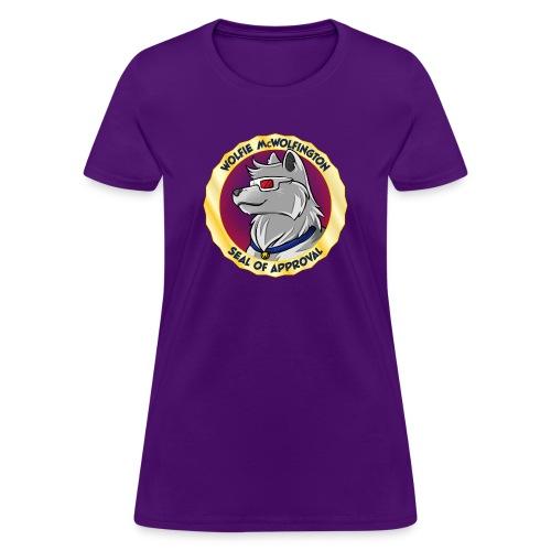 Wolfie Seal of Approval - Women's T-Shirt