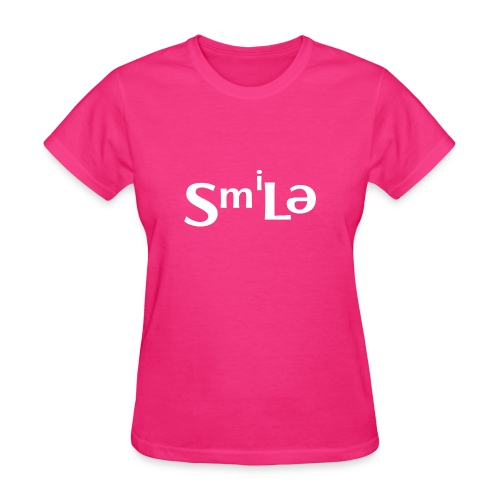 Smile Abstract Design - Women's T-Shirt