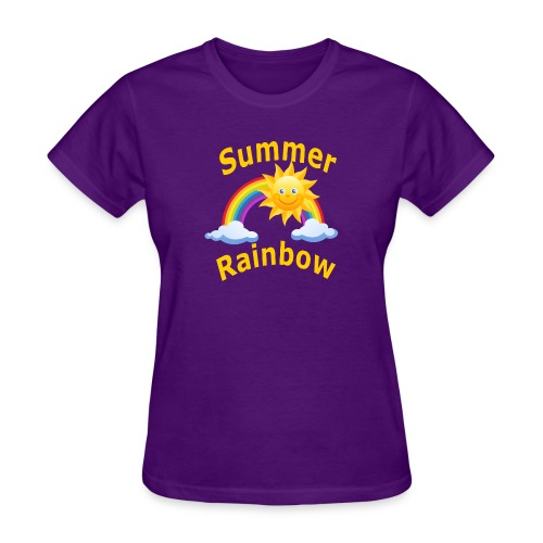 Summer Rainbow - Women's T-Shirt