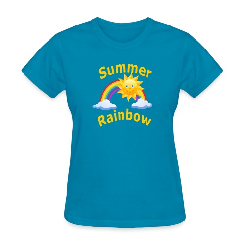 Summer Rainbow - Women's T-Shirt