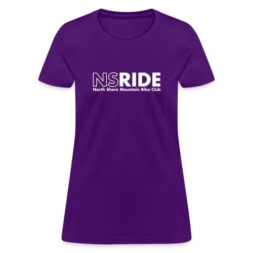 NSRIDE Text Logo - Women's T-Shirt