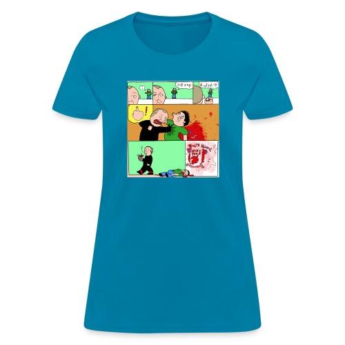 wingtsunkungfu cartoon - Women's T-Shirt