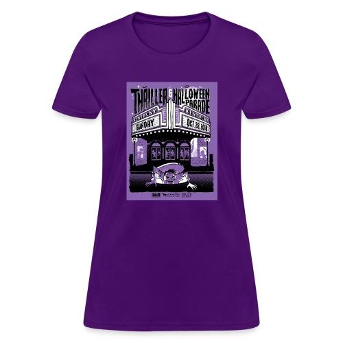 Thriller 2018 Lexington Halloween Parade - Women's T-Shirt