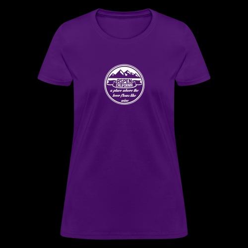 Aspen California New - Women's T-Shirt