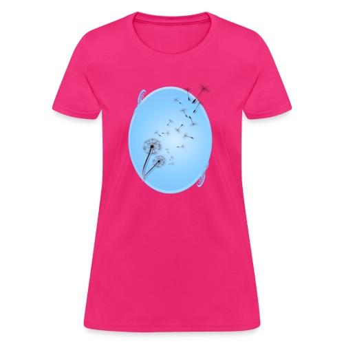 Dandelion on Baby Blue - Women's T-Shirt