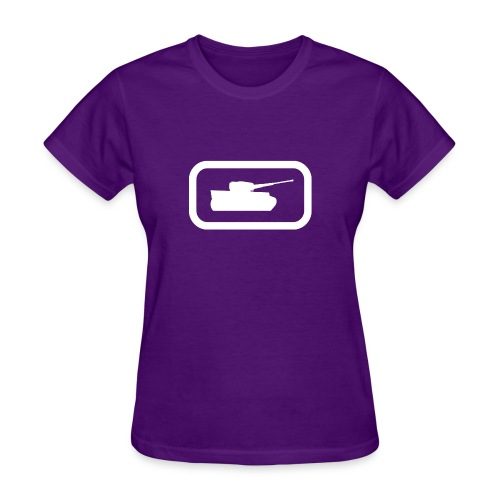 Tank Logo (White) - Axis & Allies - Women's T-Shirt
