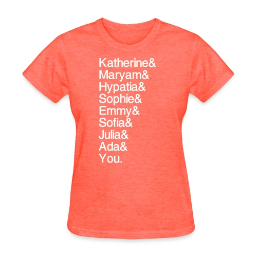 Women in Math (& You!) - Women's T-Shirt