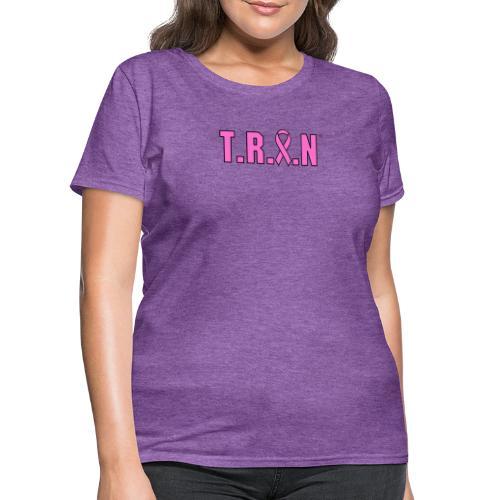 TRAN pink png - Women's T-Shirt