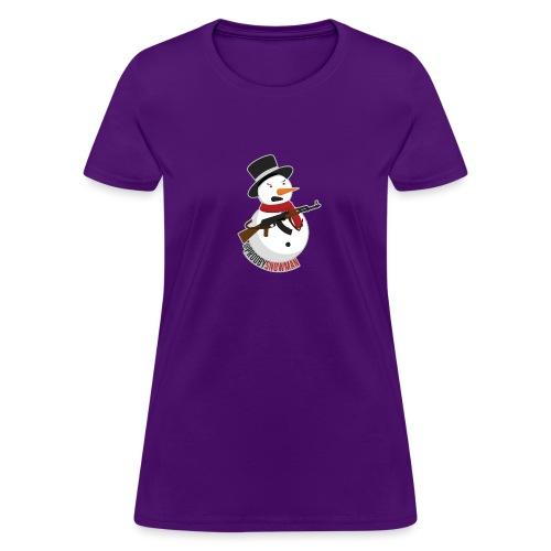 PRODBYSNOWMAN - Women's T-Shirt