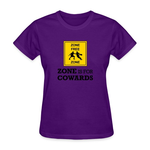 zoneisforcowards - Women's T-Shirt