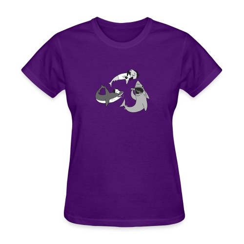Party Sharks - Women's T-Shirt