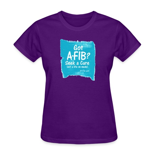 Got A Fib on brush stroke - Women's T-Shirt