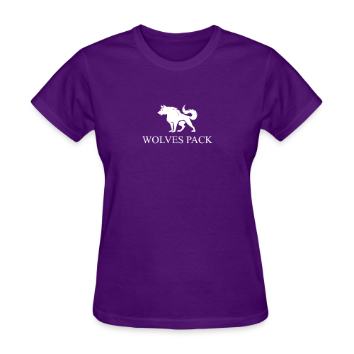 LOGO WOLF 1 white - Women's T-Shirt