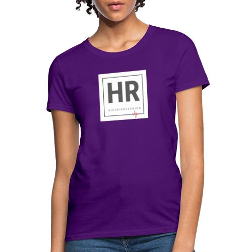 HR - HighRiskFashion Logo Shirt - Women's T-Shirt
