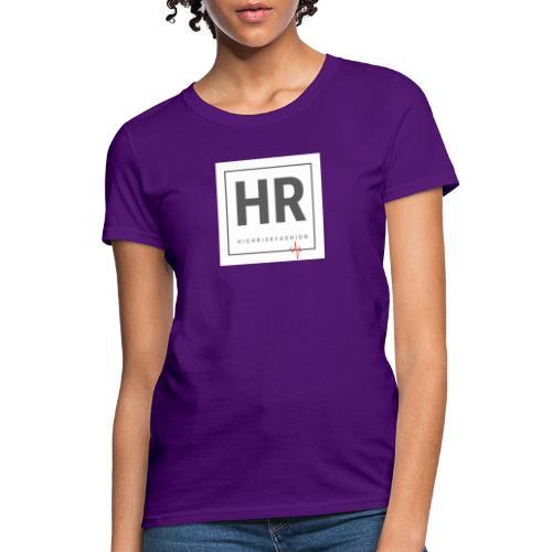 HR - HighRiskFashion Logo Shirt - Women's T-Shirt