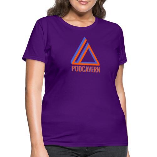 PodCavern Logo - Women's T-Shirt