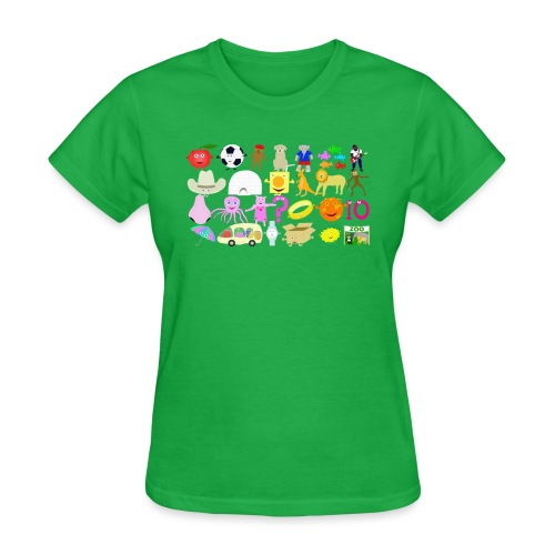 Phonics Song 3 - Women's T-Shirt