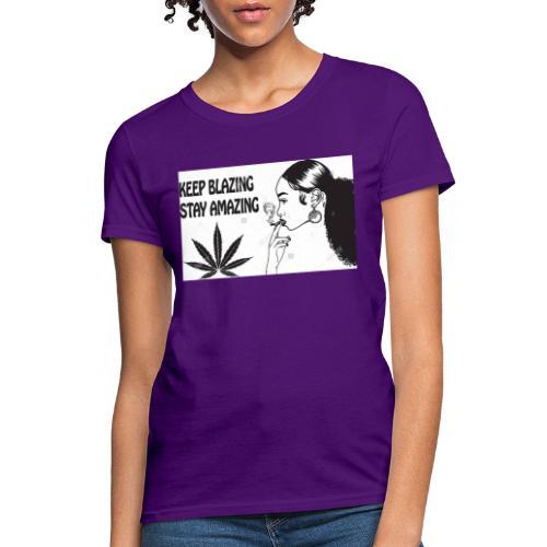 Keepblazin - Women's T-Shirt