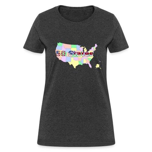 50 states - Women's T-Shirt
