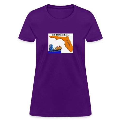 I Survived Irma - Women's T-Shirt