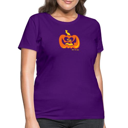 Smiling Pumpkin - Women's T-Shirt