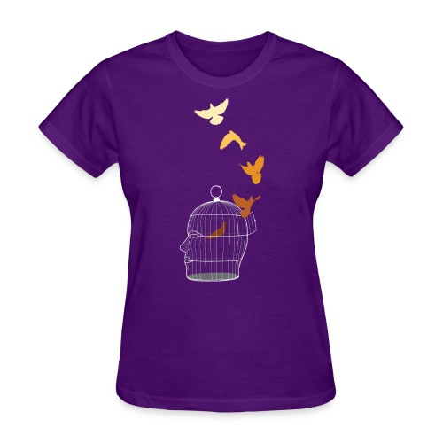 Free Thought - Women's T-Shirt