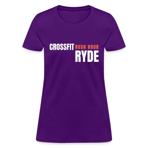 CrossFit Rush Hour Ryde - Standard Design - Women's T-Shirt