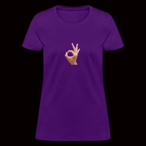 Finger Hand - Women's T-Shirt