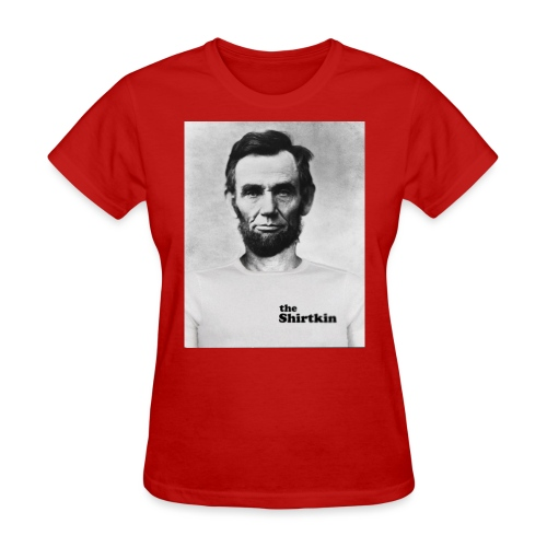 Abraham Lincoln Shirtkin - Women's T-Shirt