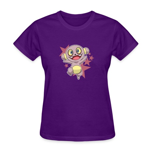 buttfaceshirt0011 png - Women's T-Shirt