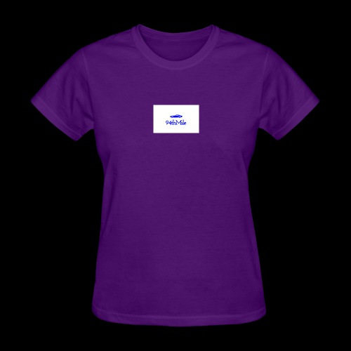 Blue 94th mile - Women's T-Shirt