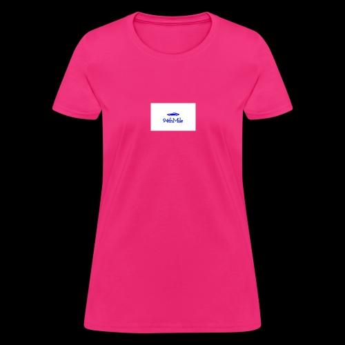 Blue 94th mile - Women's T-Shirt