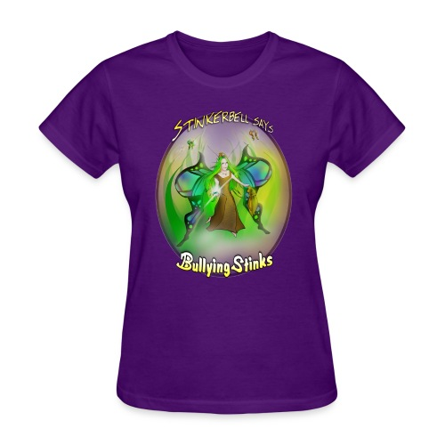 stinkerbell2 png - Women's T-Shirt