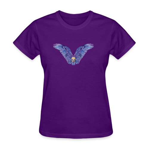 Wings Skull - Women's T-Shirt