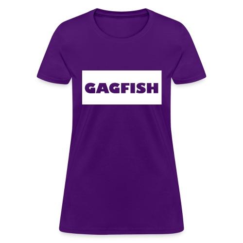 GAGFISH WIGHT LOGO - Women's T-Shirt