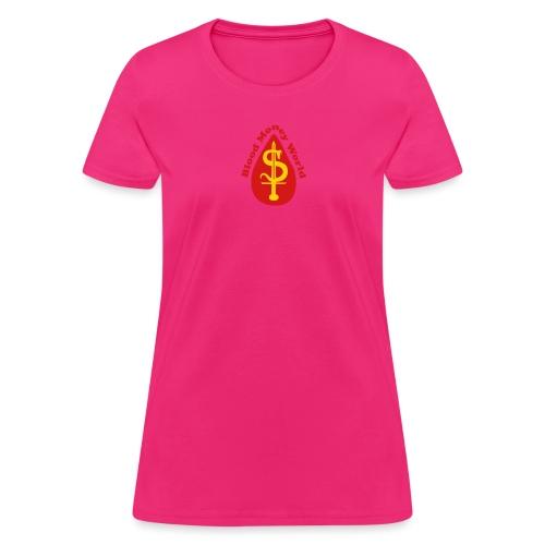 blood money World - Women's T-Shirt