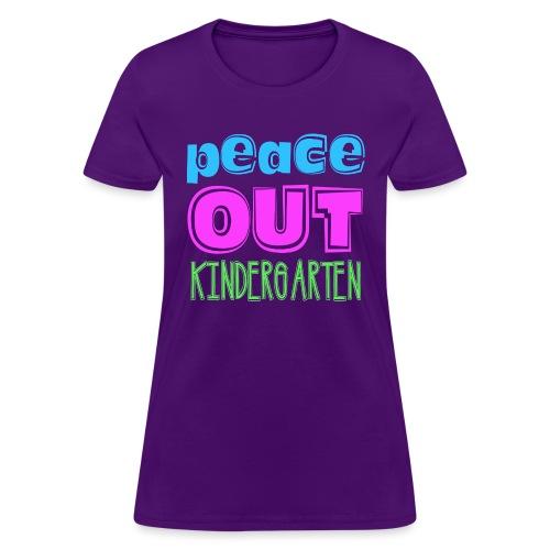peace out - Women's T-Shirt