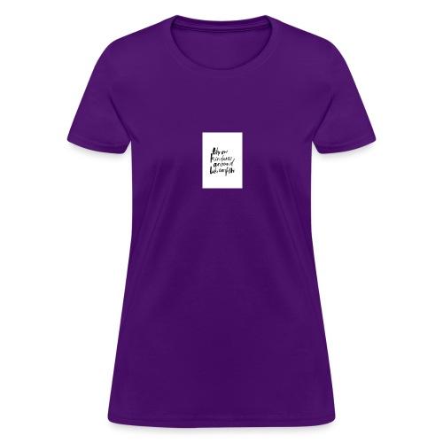 Throw kindness around - Women's T-Shirt
