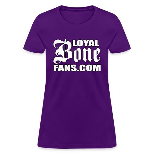 Loyal Bone Fans (Logo 1) - Women's T-Shirt