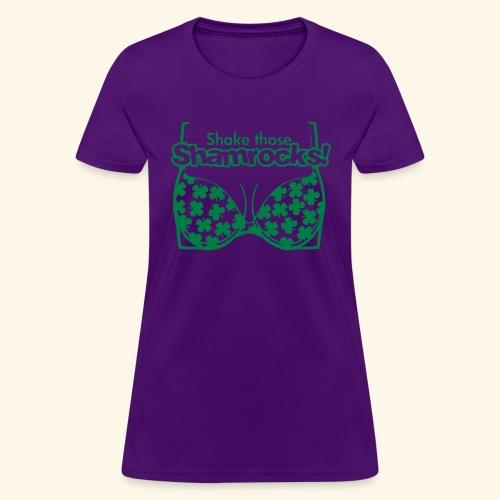 Shake those Shamrocks Shirt for women - Women's T-Shirt