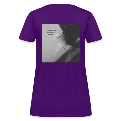 Smile My Loves - Women's T-Shirt