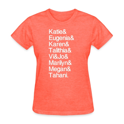 MathGals & Megan with hashtag - Women's T-Shirt