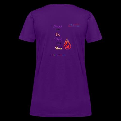 Flourish Under Flames Merch - Women's T-Shirt