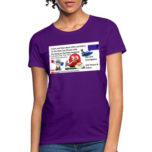 LiveStreamWelcome2 with Crew Back Logo - Women's T-Shirt