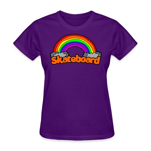SK8 THE RAINBOW - Women's T-Shirt