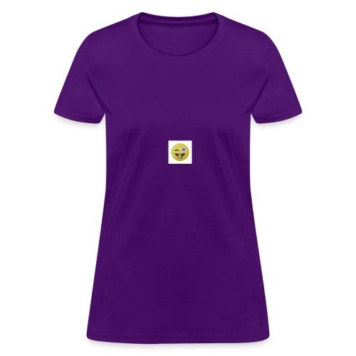 silly face - Women's T-Shirt