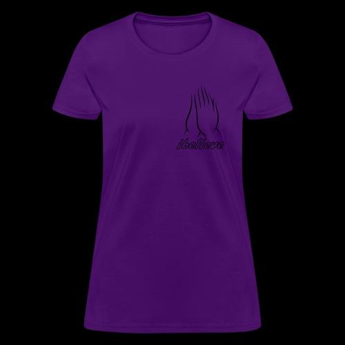 iBelieve - Women's T-Shirt