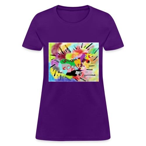 unique corn because - Women's T-Shirt