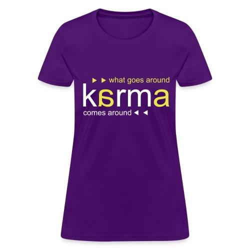 Karma Yellow - Women's T-Shirt