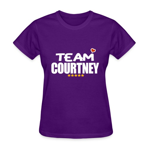 Team CourZ - Women's T-Shirt